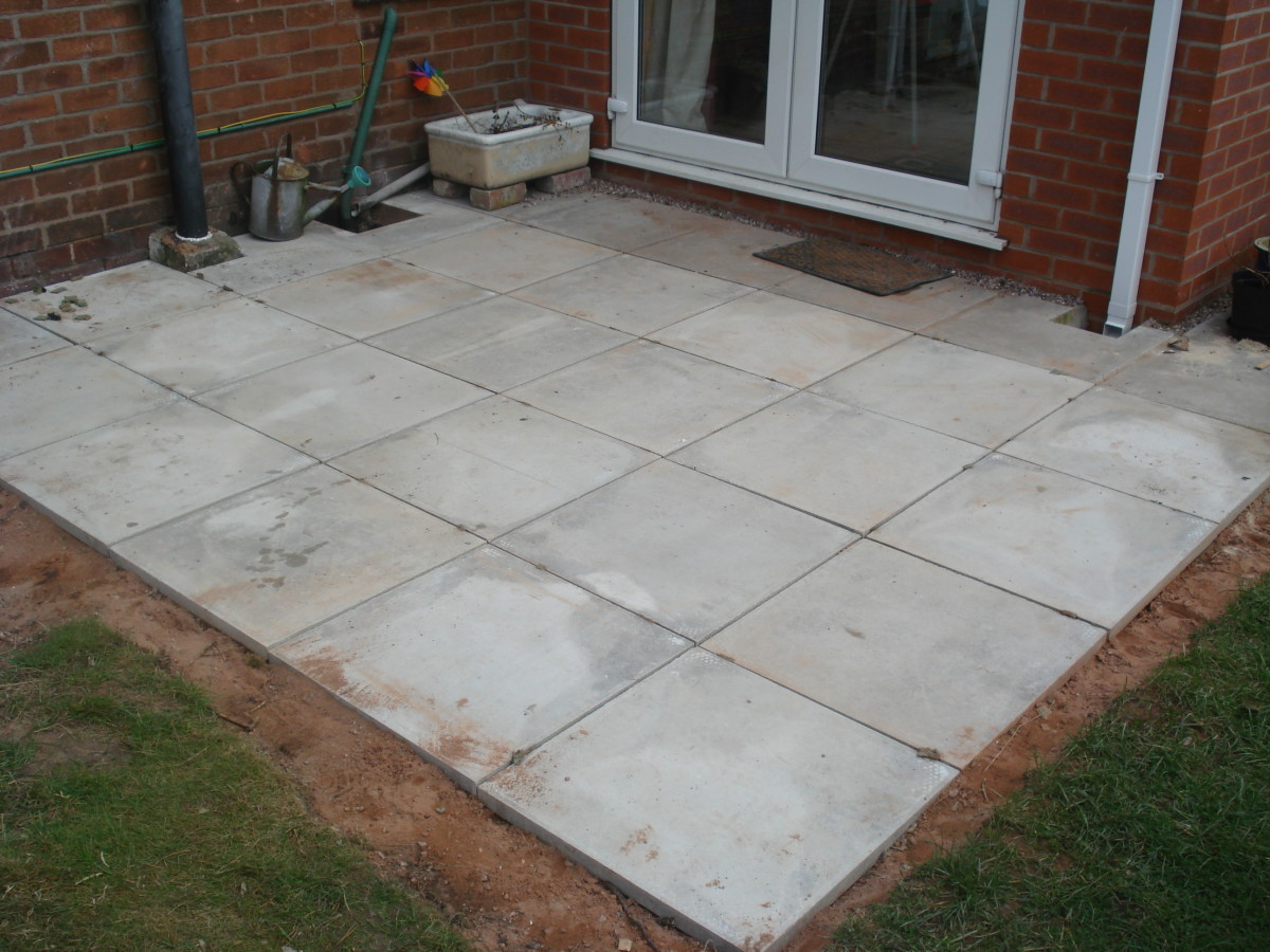 laying a patio - a step by step guide