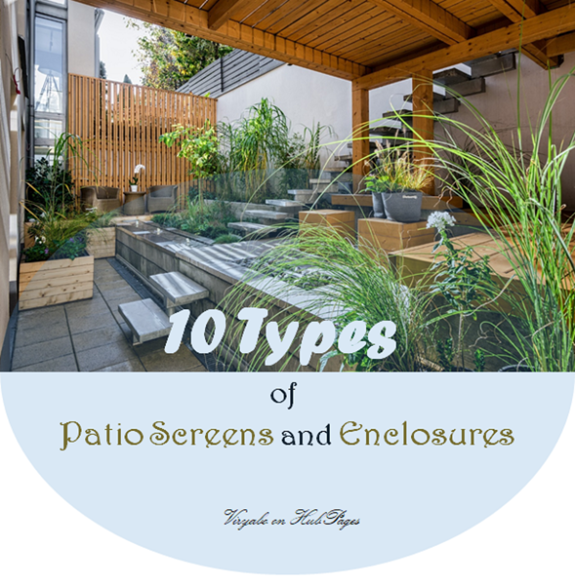 10 Types of Patio Screens and Enclosures