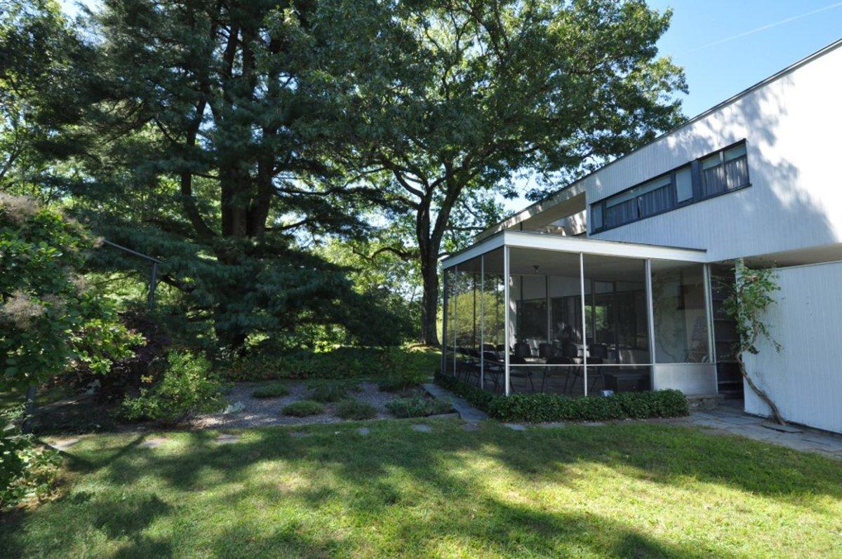 """Japanese Garden and Patio"" . . . Gropius House"