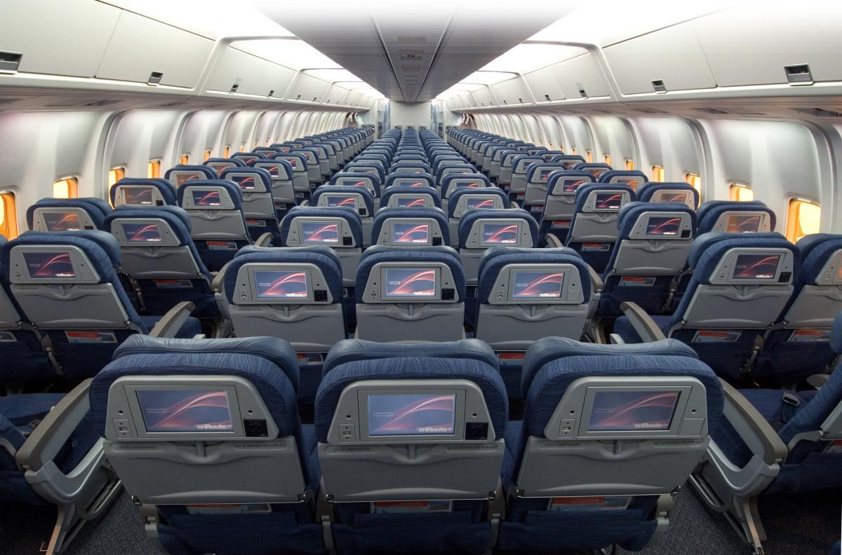 BOEING 767 PASSENGER COMPARTMENT