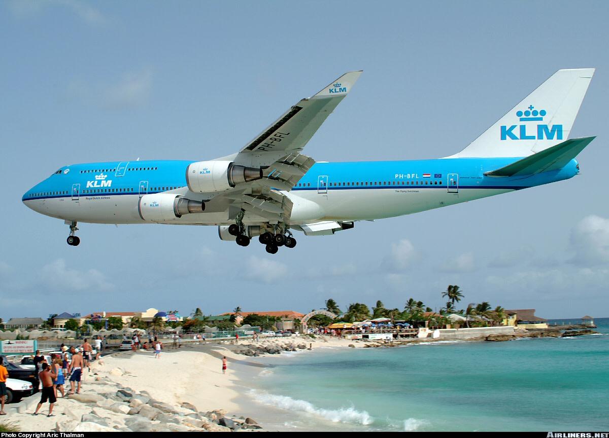 KLM AIRLINES BOEING 747 JUMBO JET