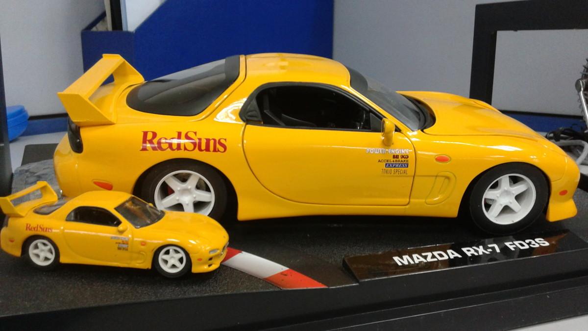 Jada 1:18 Mazda RX7 (FD) of Keisuke Takahashi