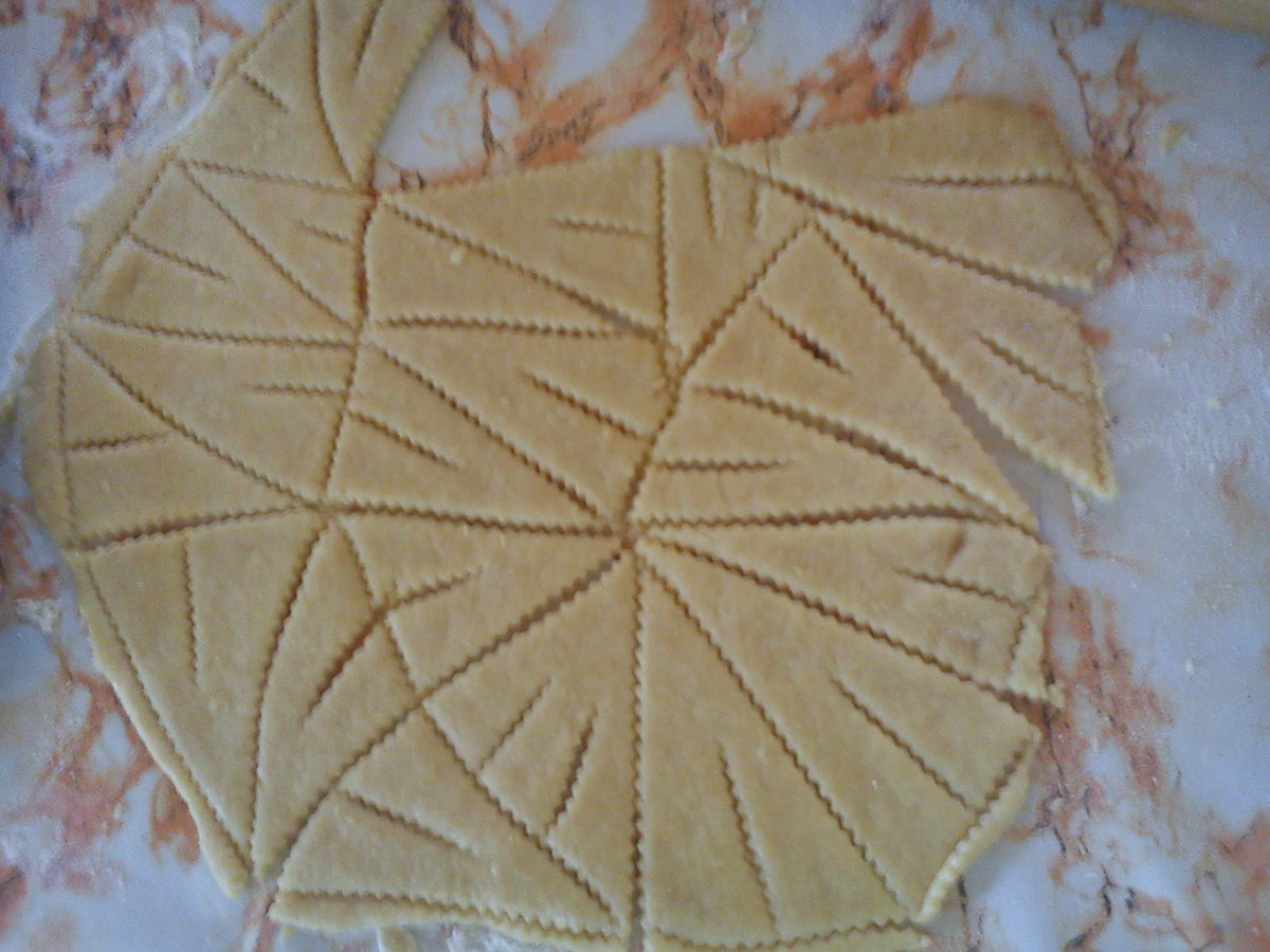 CROATIAN CVITE - a Croatian cookie recipe