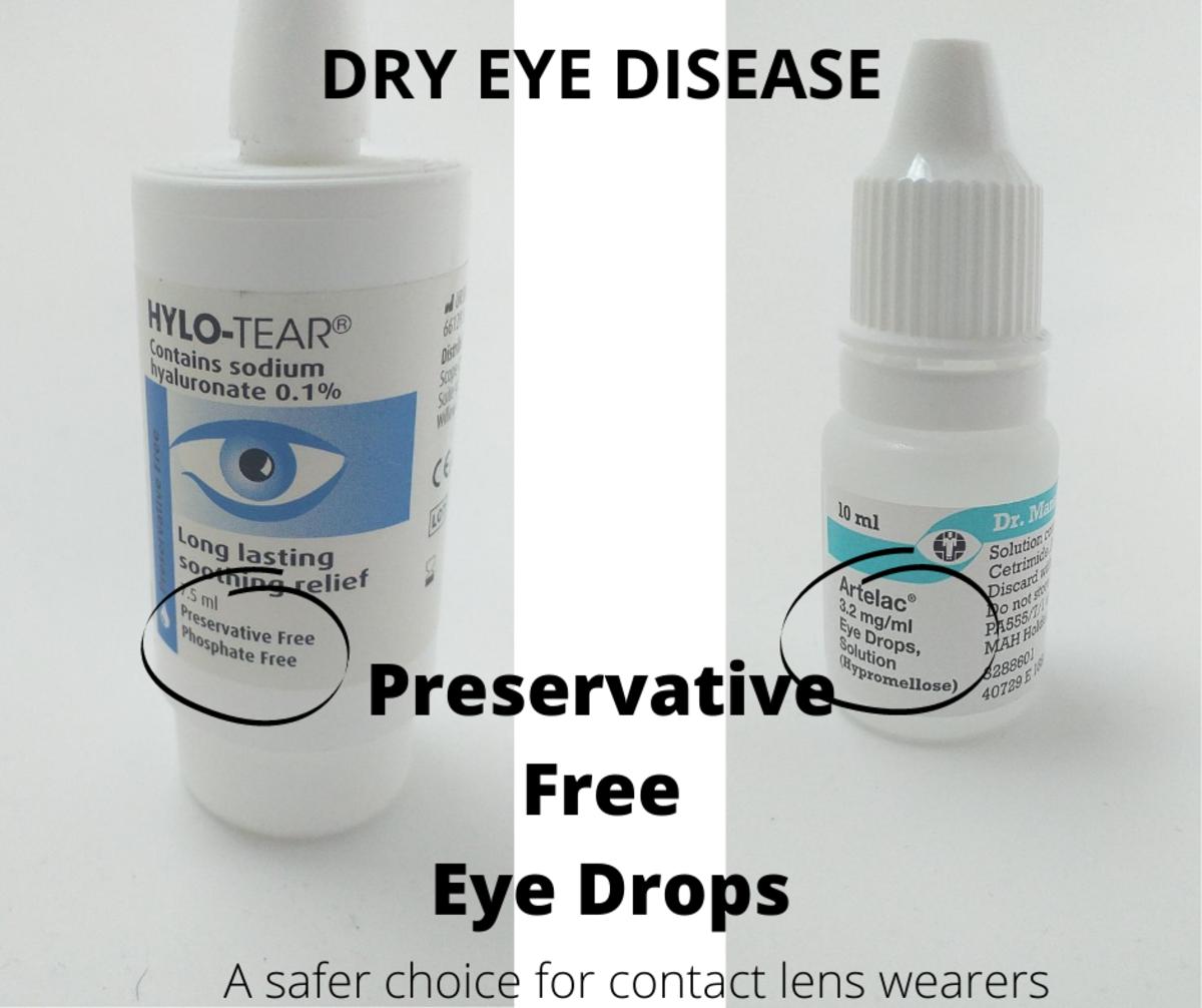 Preservative Free Eye Drops For Dry Eye Disease