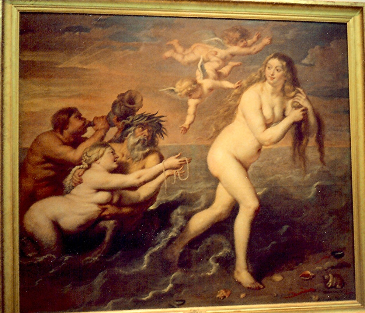 "Cornelis de Vos's ""The Birth of Venus"""