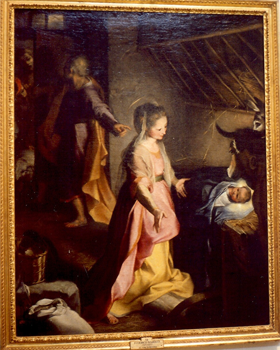 "Barocci's ""Birth of Christ"""