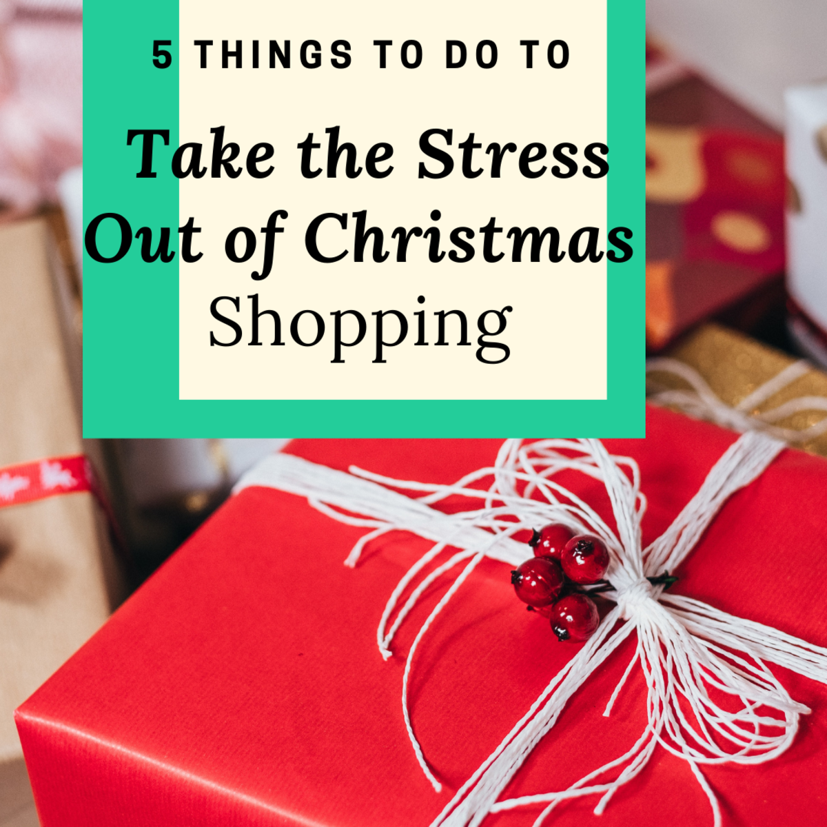 Simplify your Christmas-shopping process with these five tips.