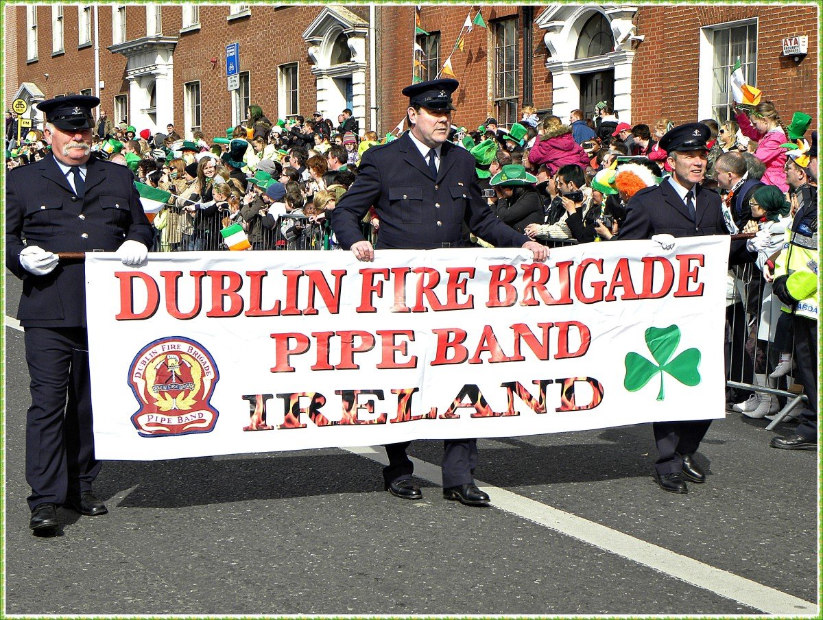 St. Patrick's Day is celebrated in Ireland and other parts of the UK with parades, parties, and general revelry.