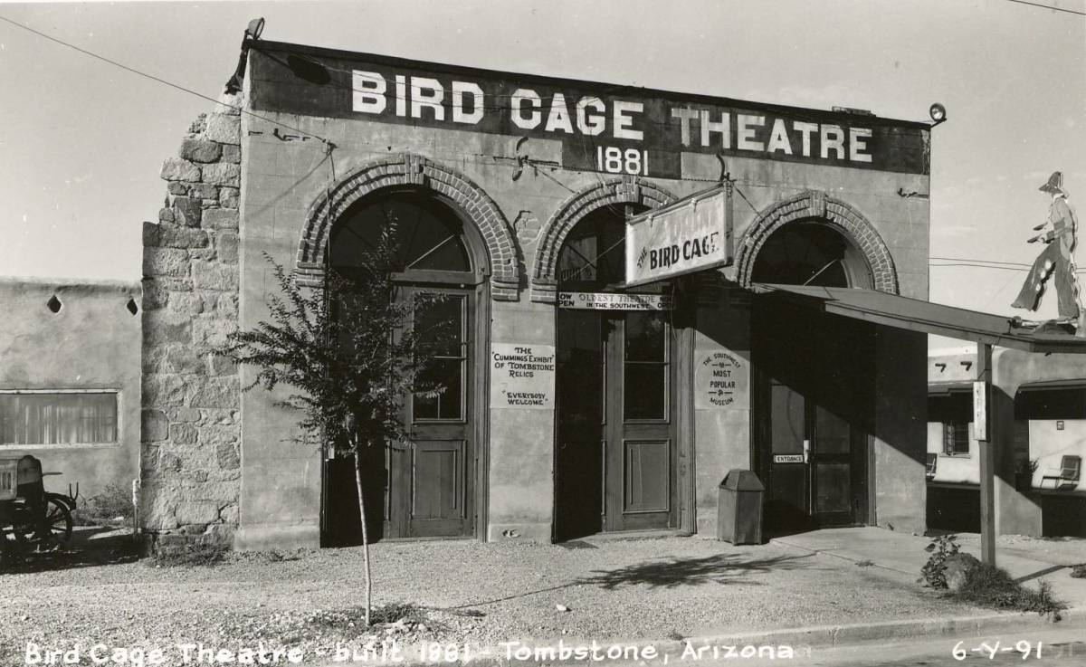 The Deadly Bird Cage Theatre Tombstone Arizona