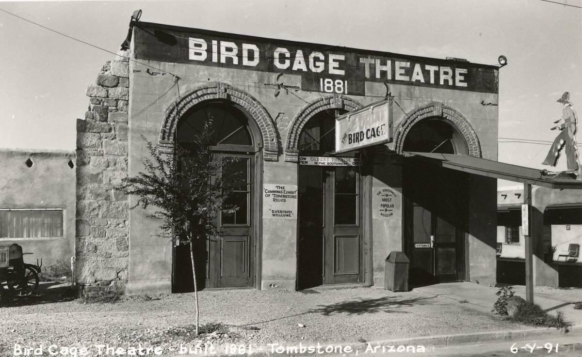 The Deadly Bird Cage Theatre Tombstone Arizona