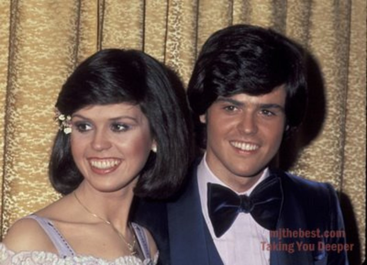 The duet twosome: Donny and Marie Osmond.