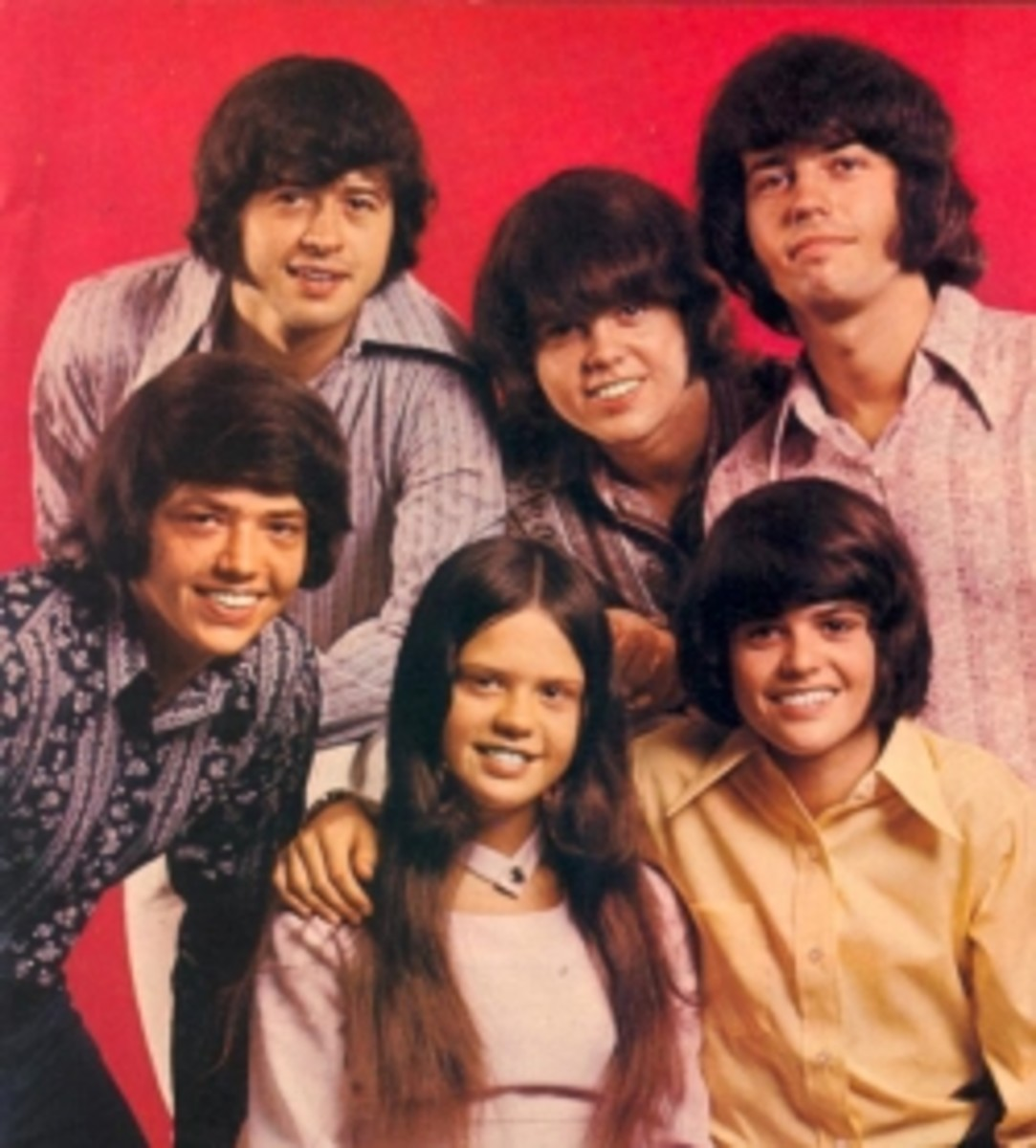 The Osmond Brothers and Marie Osmond.