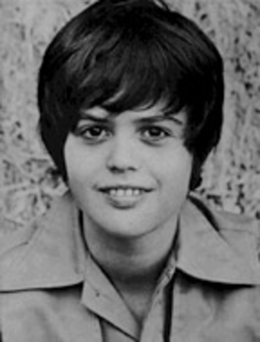 young Donny Osmond.