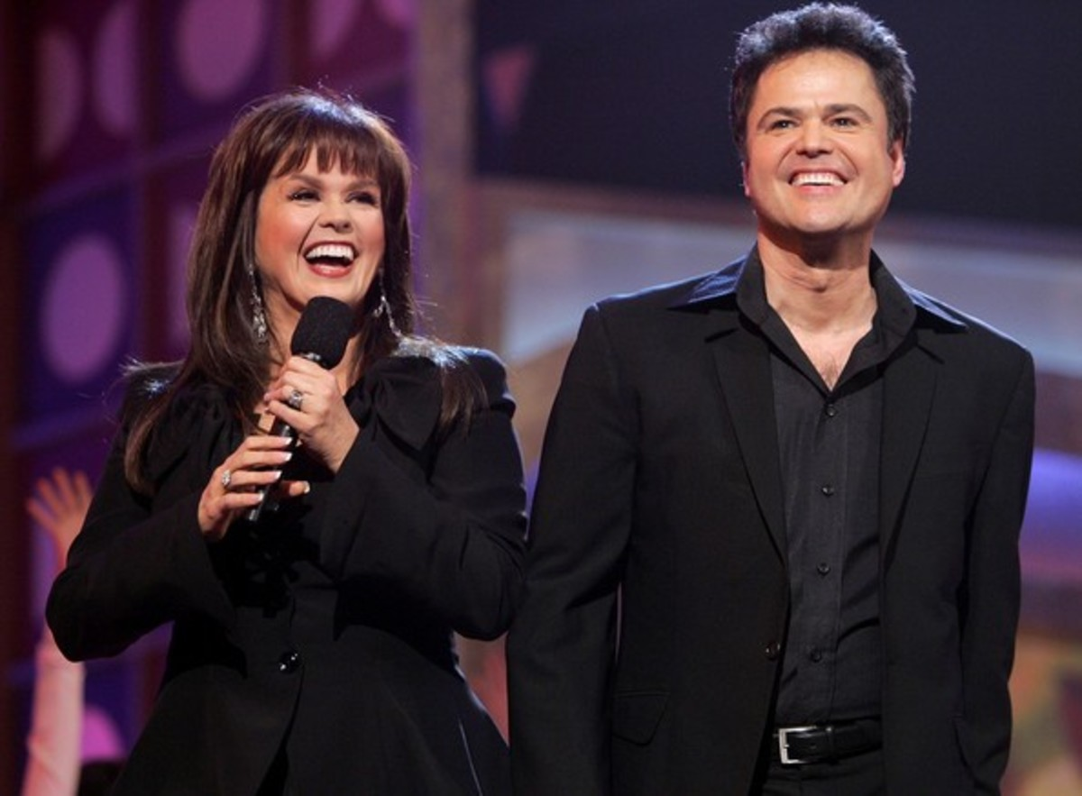The Twosome duet siblings: Donny and Marie Osmond in 2009.