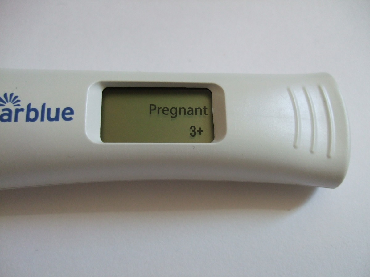 My Pregnancy Test at 5 Weeks 3 Days