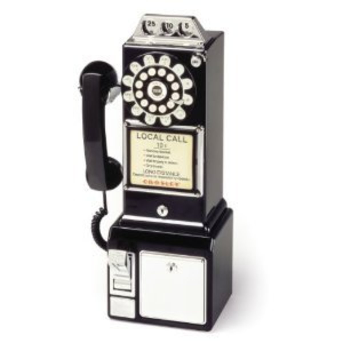 Old fashioned pay phone
