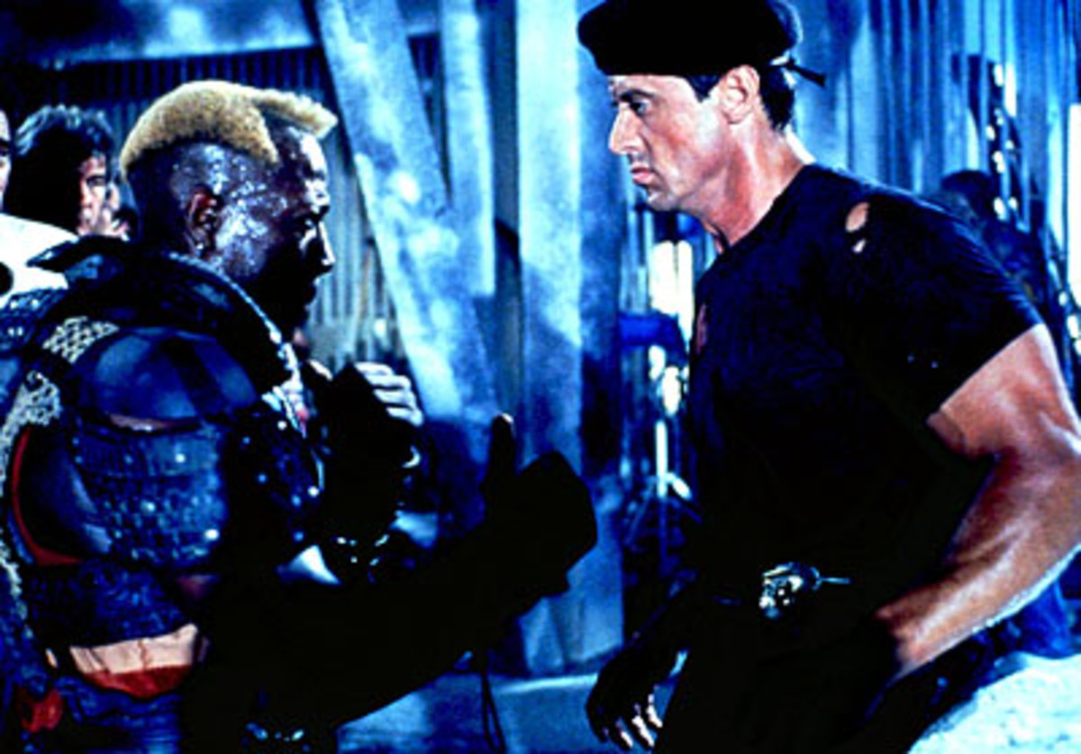 Demolition Man: Not as dumb as you think it is.