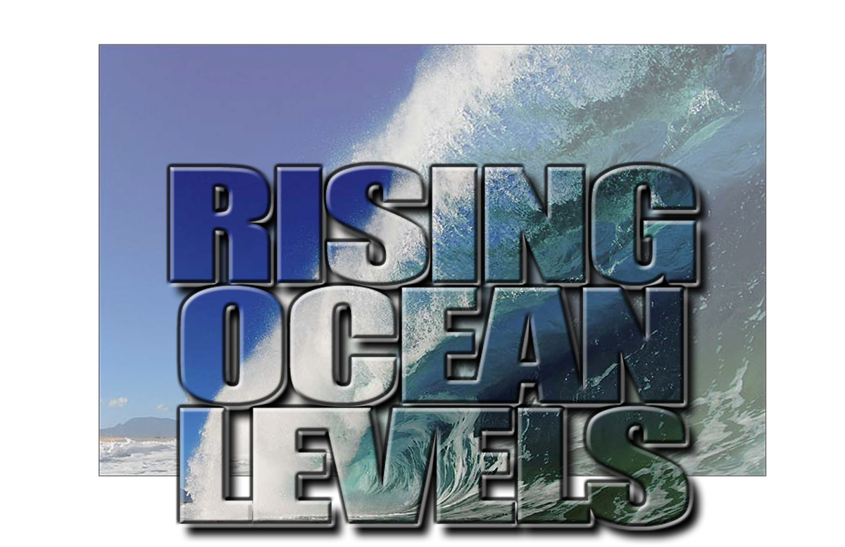 Rising ocean levels will continue to cause major flooding in river deltas world wide, from back flow!