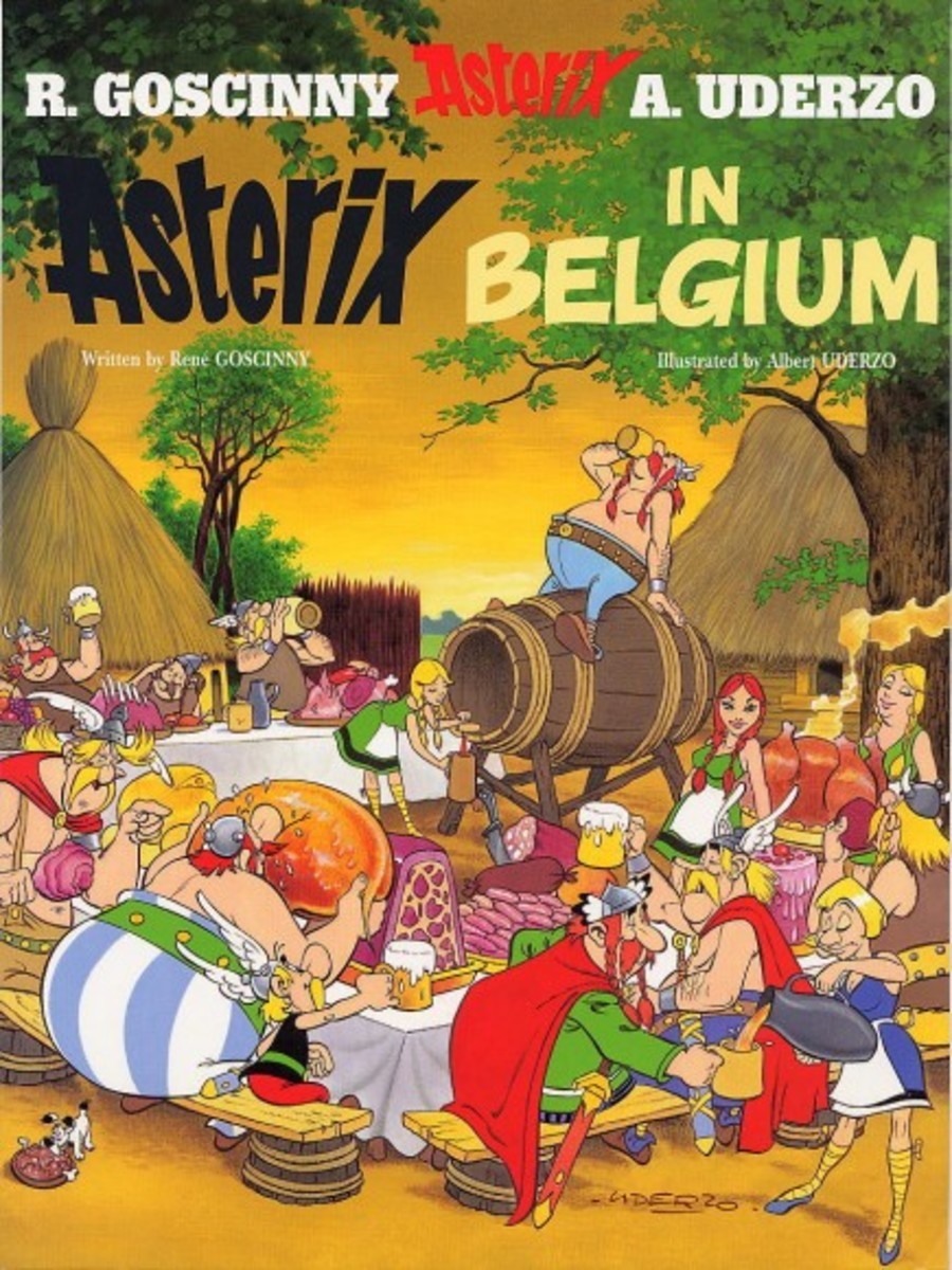 Cesar names the Belgians the bravest warriors he has ever fought- the outraged Gauls visit Belgium to see if it was really true that there could be people braver than them.