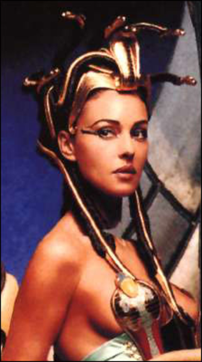 Monica Belluci as Cleopatra