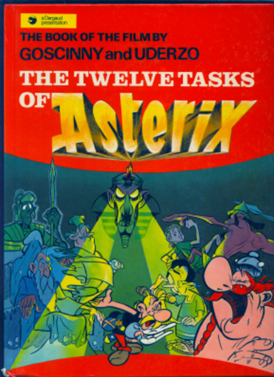 Based on an original screenplay written by Goscinny and Uderzo- this book adaptation of the animated film features a challenge set to Asterix to do twelve tasks of varying complexity and endurance.