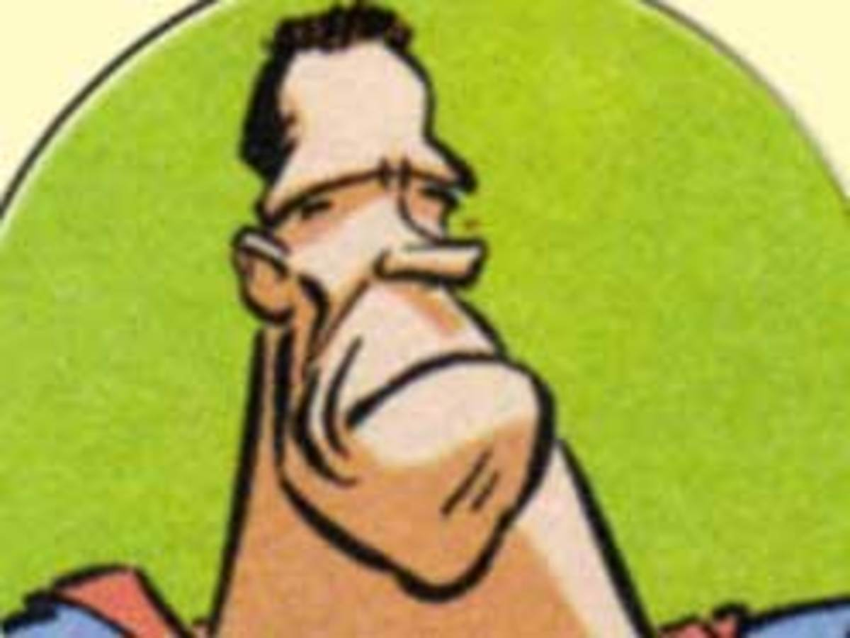 Arnold Schwarzenegger as a 'super clone' in Asterix and the Falling Sky