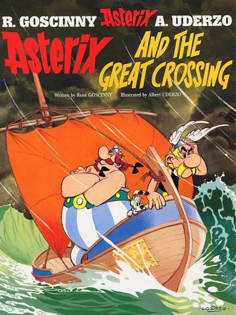 A storm blows Asterix and Obelix onto the 'New World' long before Columbus discovers it. There they meet the Indian clans and Obelix is betrothed to the chiefs daughter.. A trip back to Europe takes them to Viking land!
