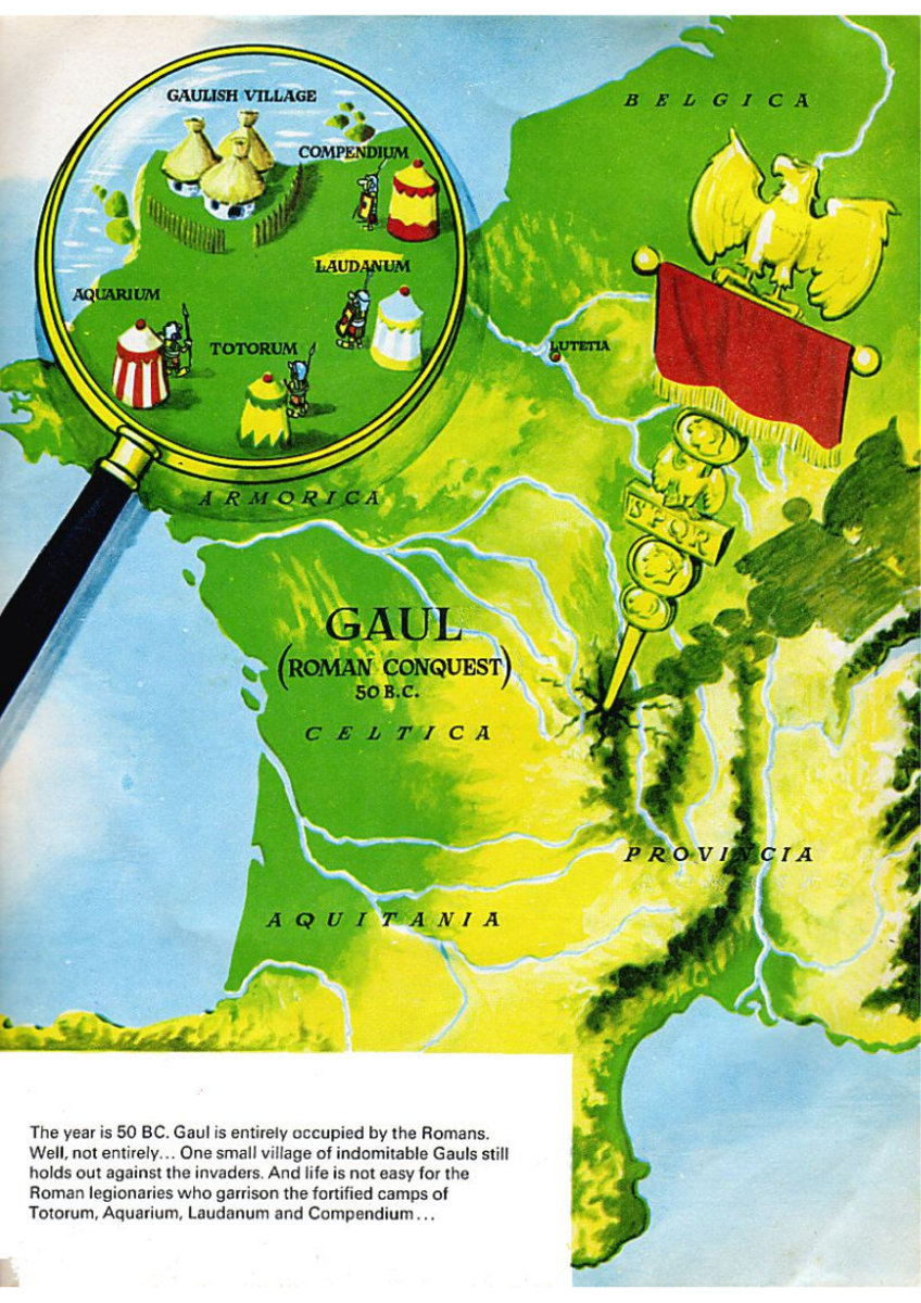 Gaul, 50 BC