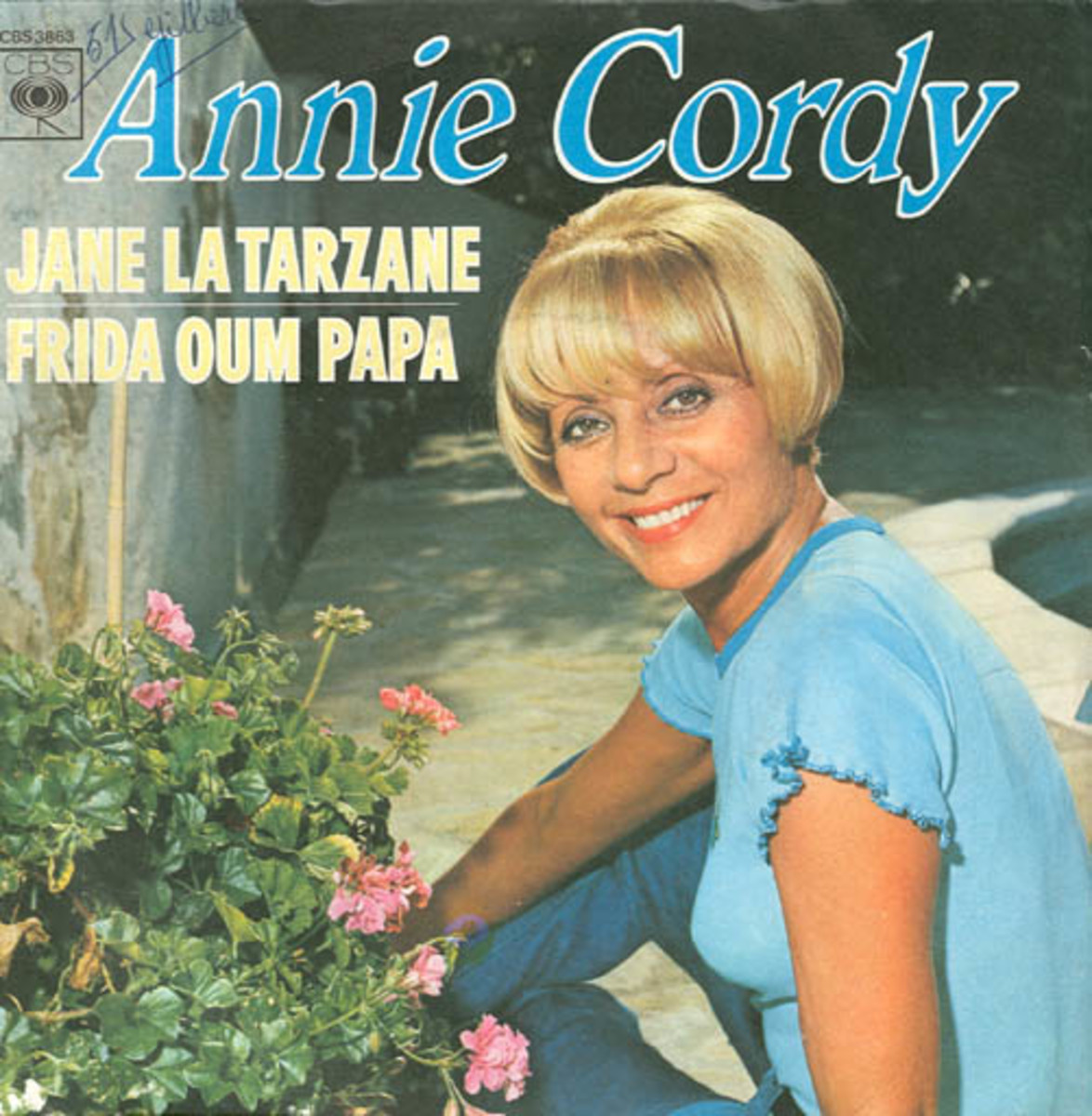 Belgian Actress Annie Cordy