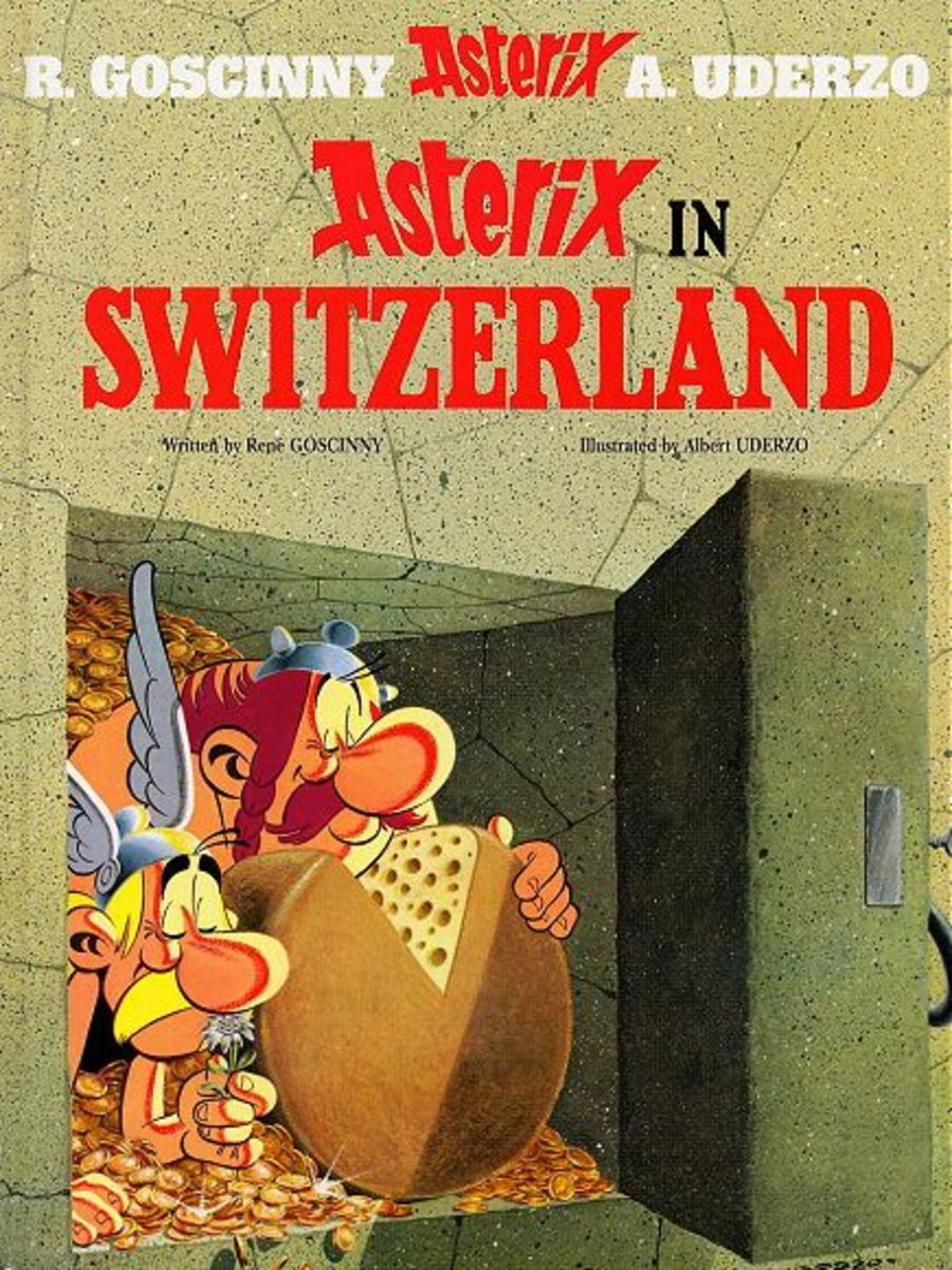 Roman investigator Vexatius sinusitus is beign posioned and only Getafix can brew an antidote. Our heroes depart to Helvetia to collect a rare flower (edelweiss) for the recipe. Encounter the Swiss and the Romans along their adventurous journey.