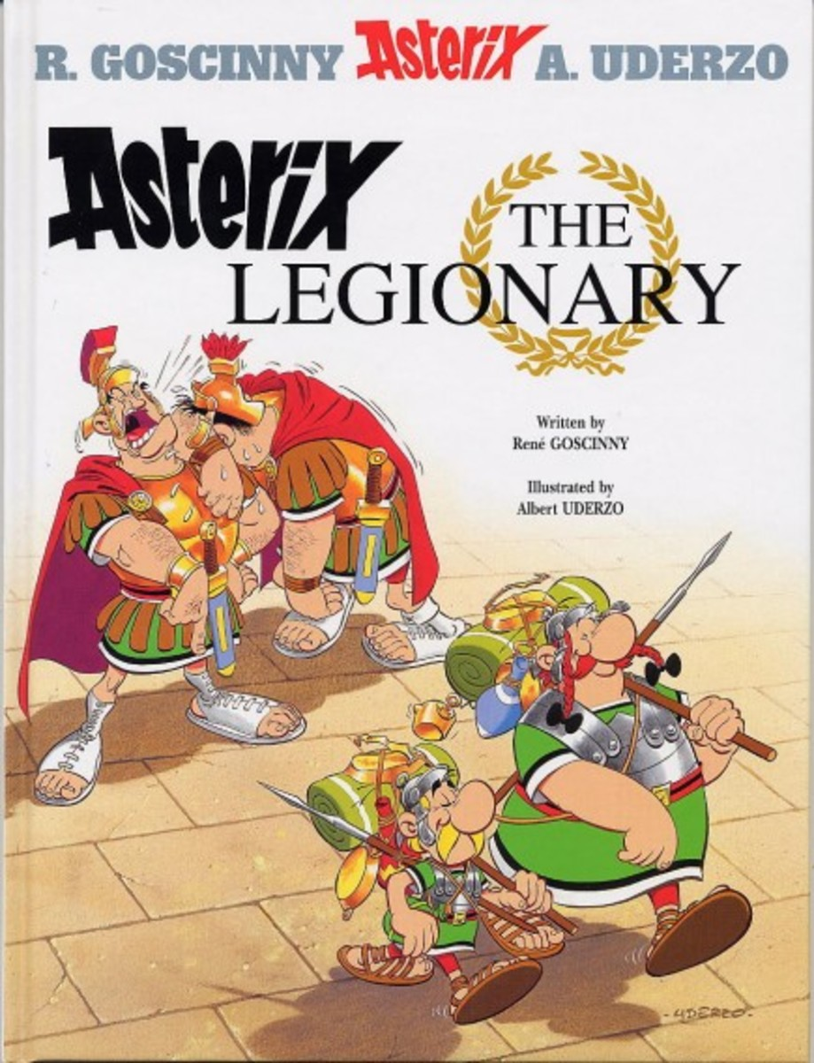 Out on a wild boar hunt Obelix encounters the beautiful Panacea and is smitten. However the lady wants her boyfriend rescued from the Roman army where he has been conscripted. Asterix and Obelix spring to the rescue even if it means enlisting!