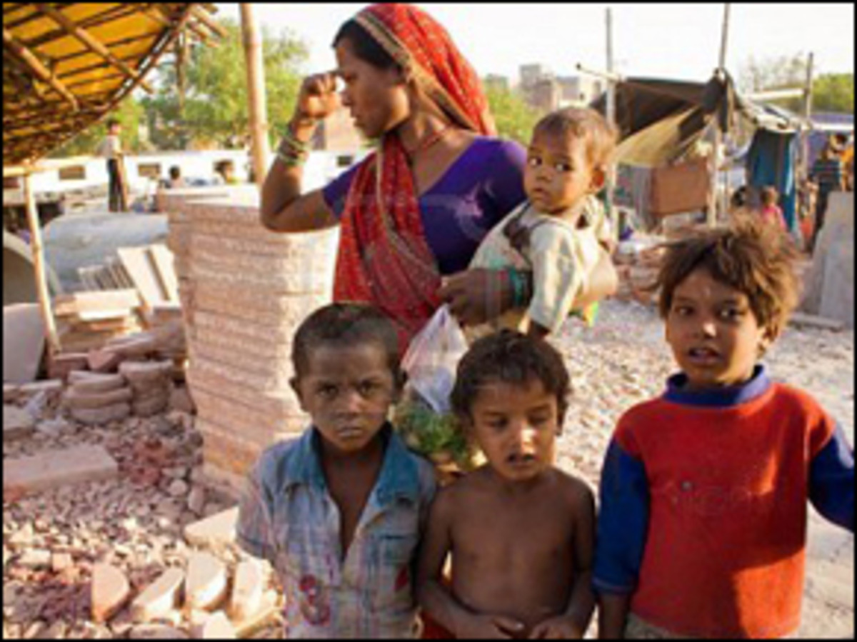 Poor in India are really very poor.