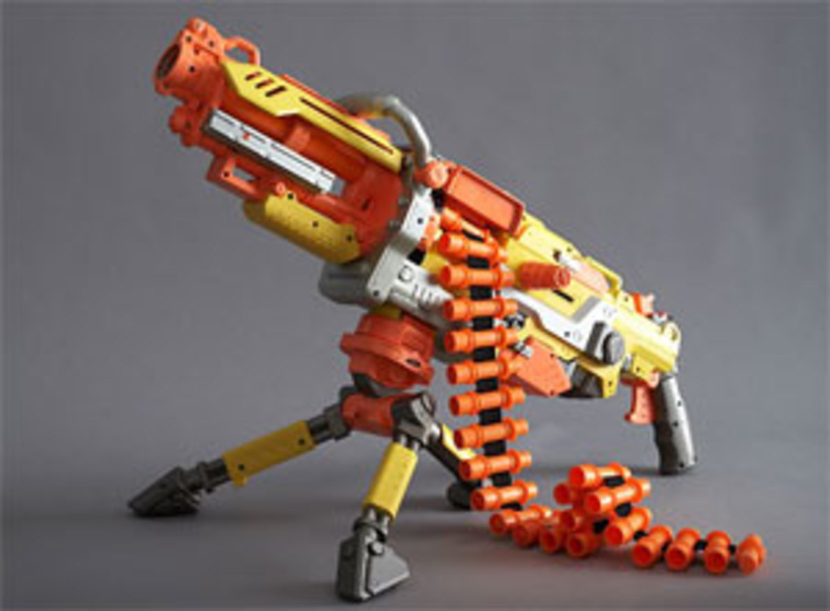 Contemporary Nerf gun