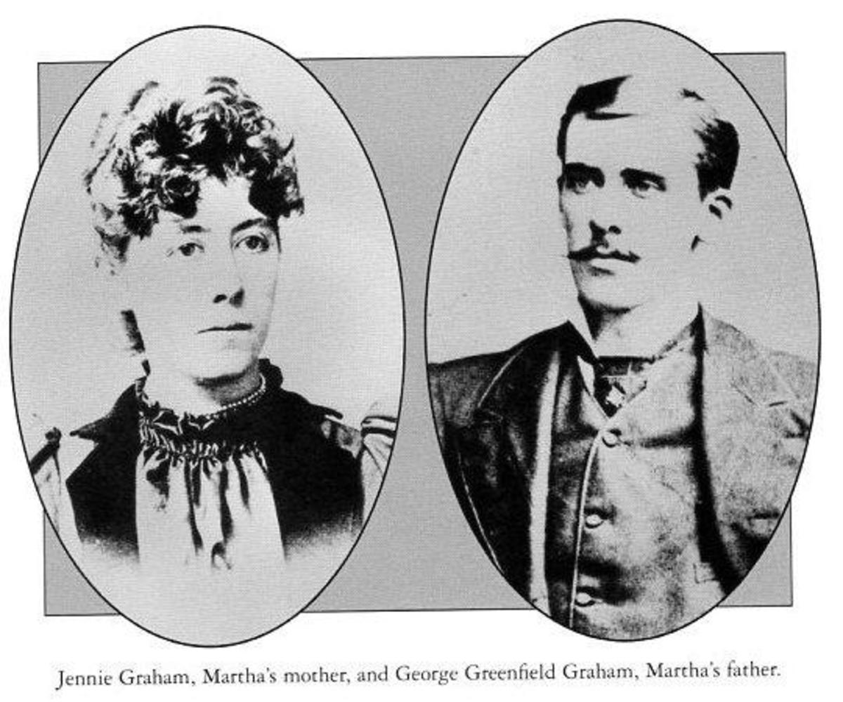Martha's parents: George and Jennie Graham
