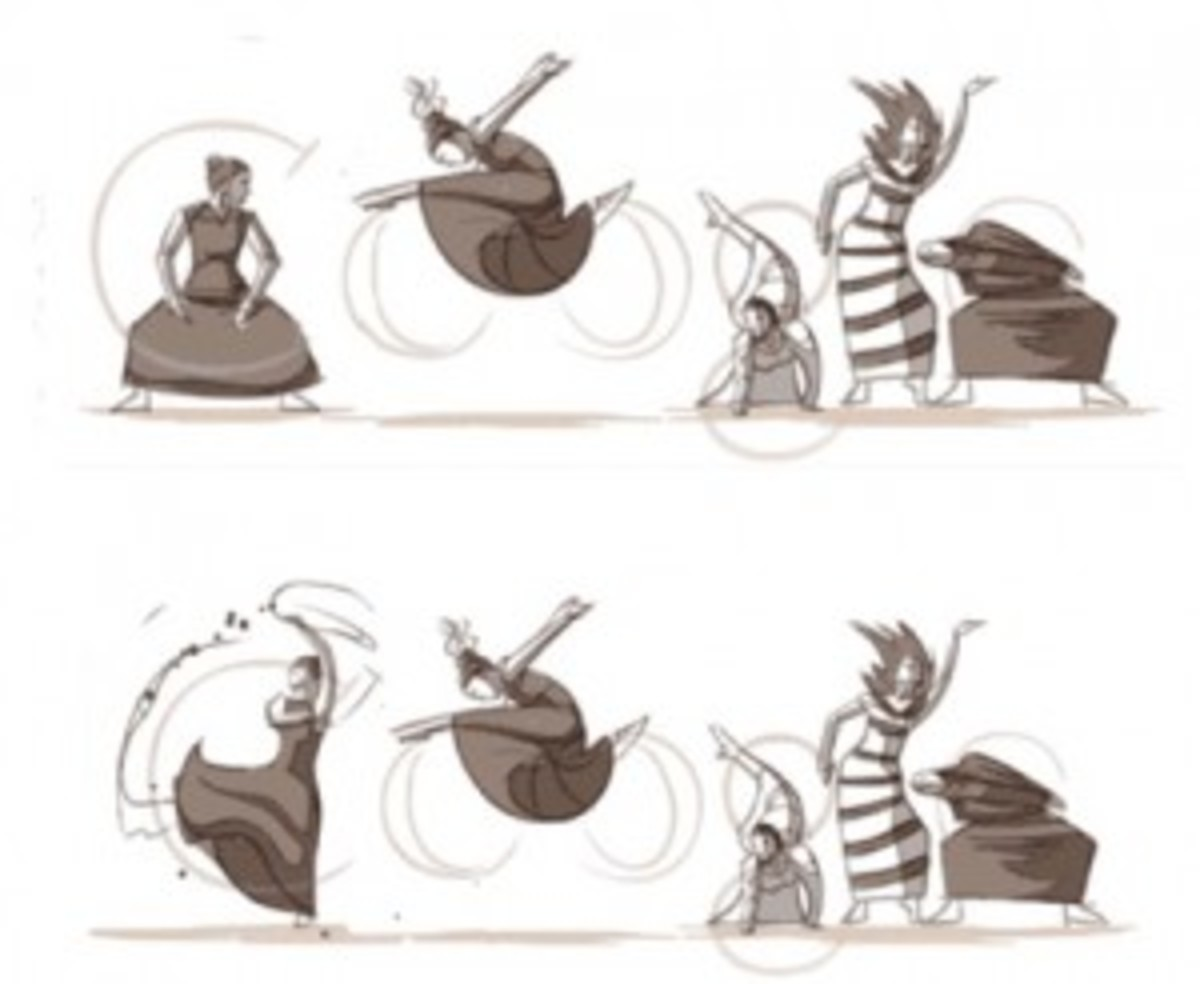 Google celebrates the 117th Birthday of Martha Graham's birthday.
