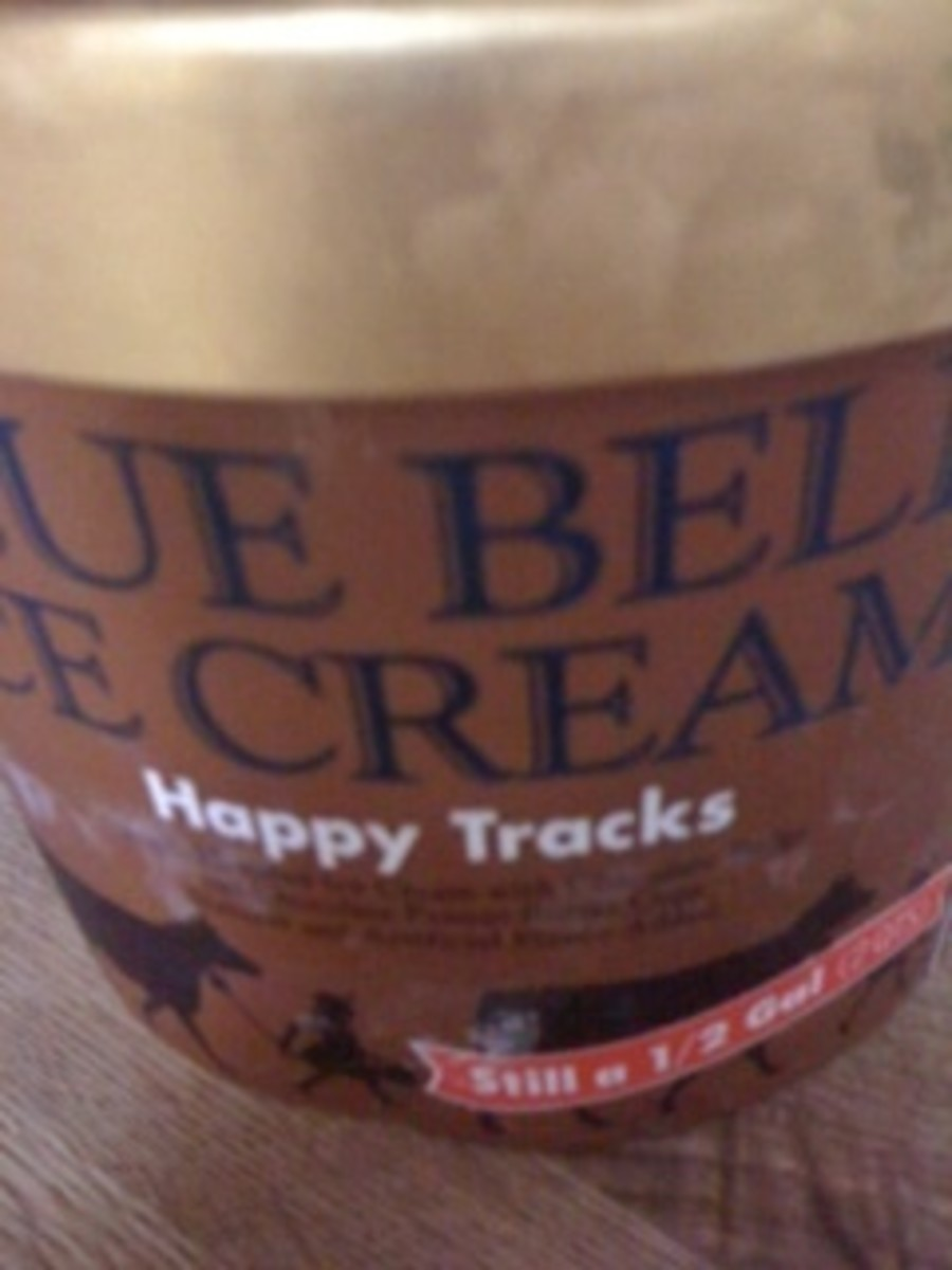 Moose Tracks vs Bluebell Happy Tracks Ice Cream