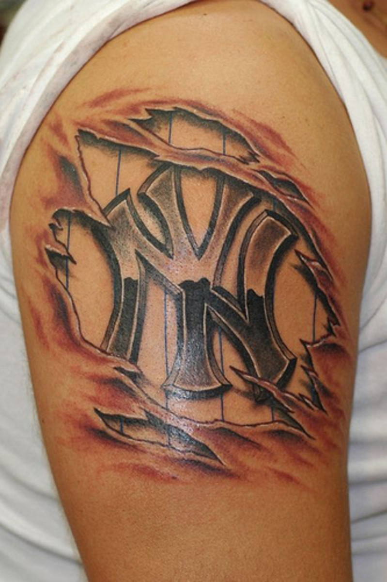 new york yankees tattoos hubpages