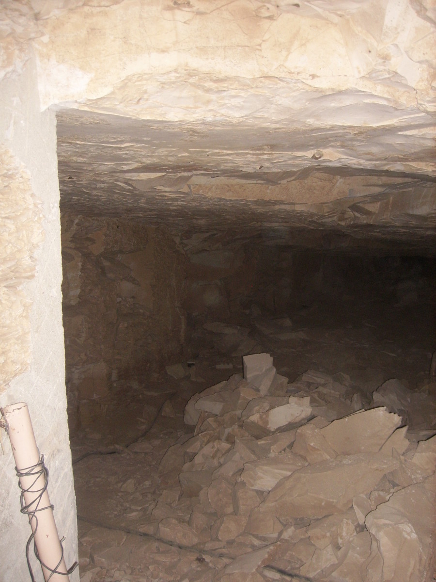 Interior of KV5, Valley of the Kings