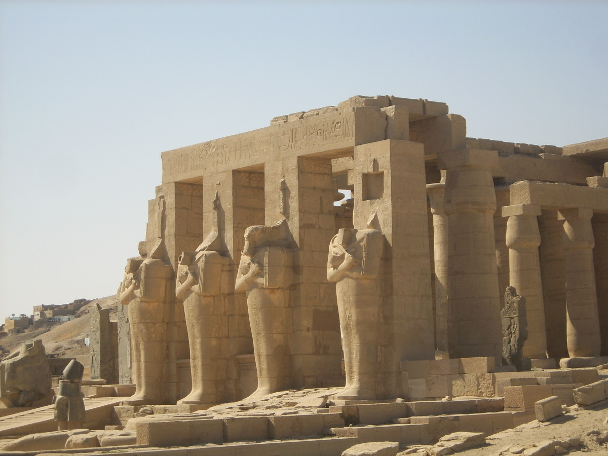 The Ramesseum - Mortuary Temple of Pharaoh Rameses II