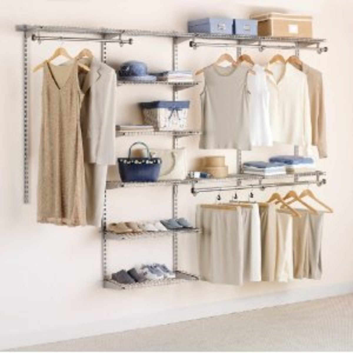 Rubbermaid Configurations 4-to-8-Foot Deluxe Custom Closet Kit