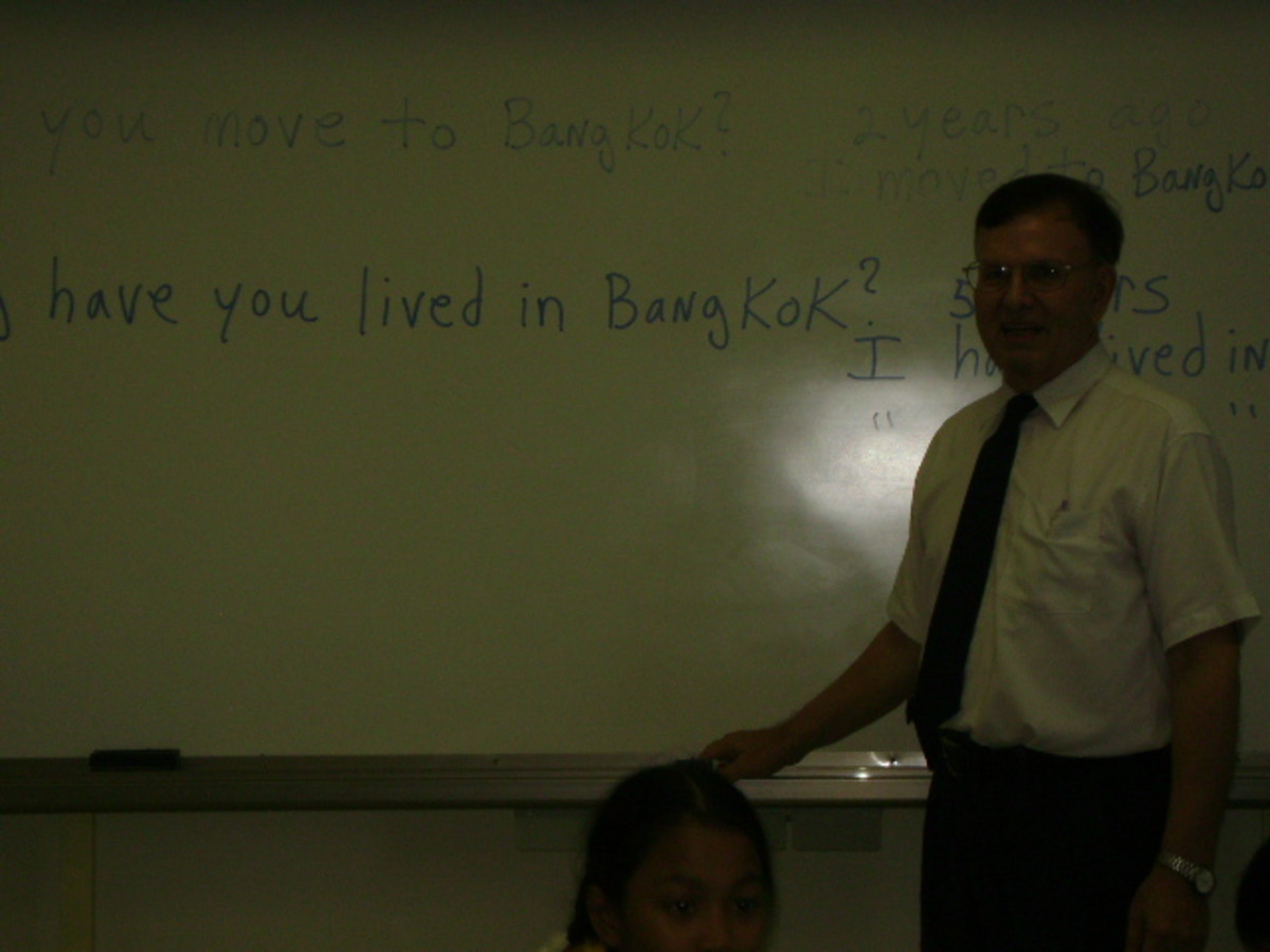 ESL Classroom Instruction in Thailand
