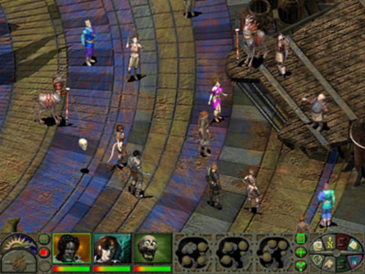 Planescape uses the same game engine as Baldur's Gate