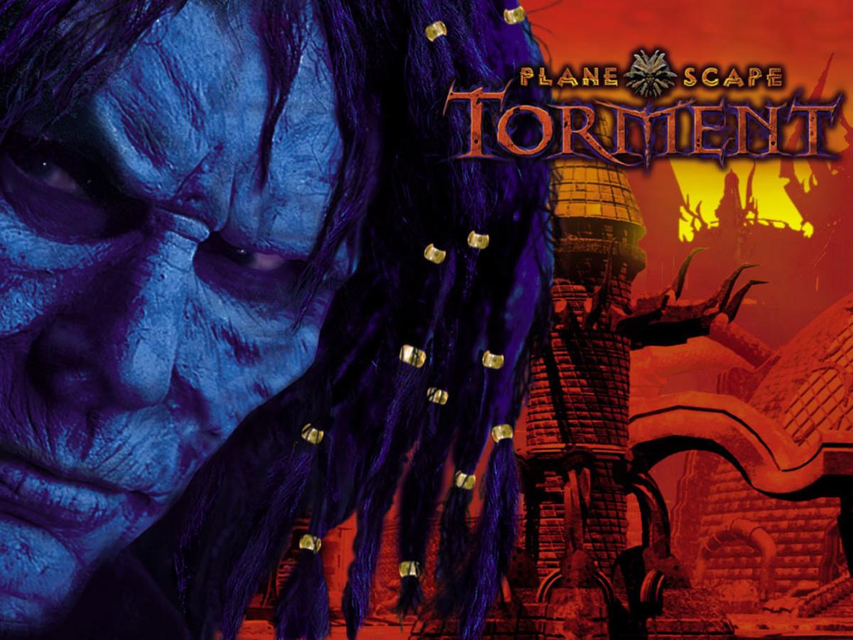 It all begins in Sigil.... Original Big Box artwork for Torment