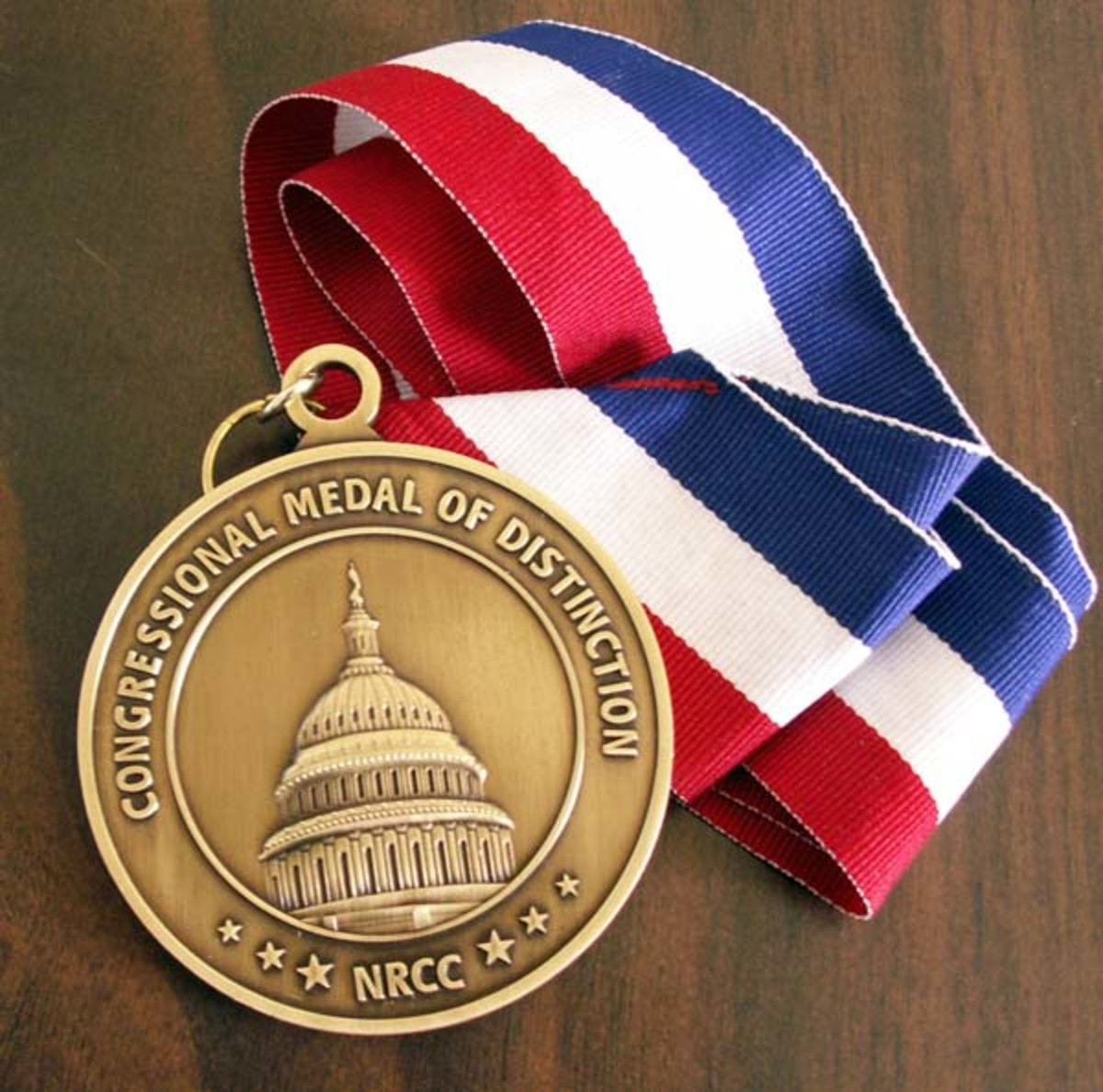 "When a Medal is NOT: US Congressional Medal of Distinction (not honor!) from Republican NRCC is a ""donation"" award"