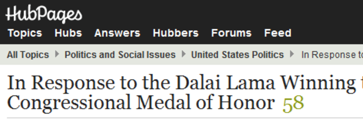 Someone got the medals completely mixed up. Dalai Lama got the Congressional Gold Medal...
