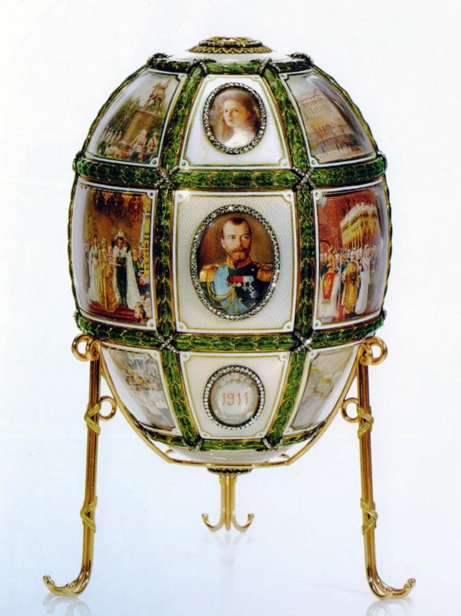 Fifteenth Anniversary Egg (1911)