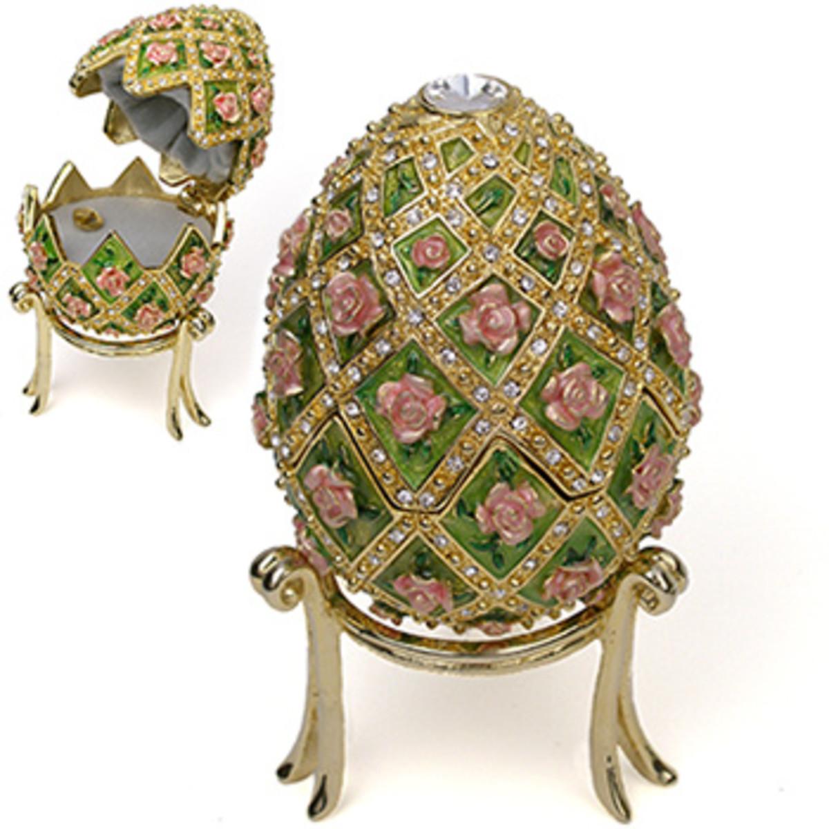 Rose Trellis Egg (1907)