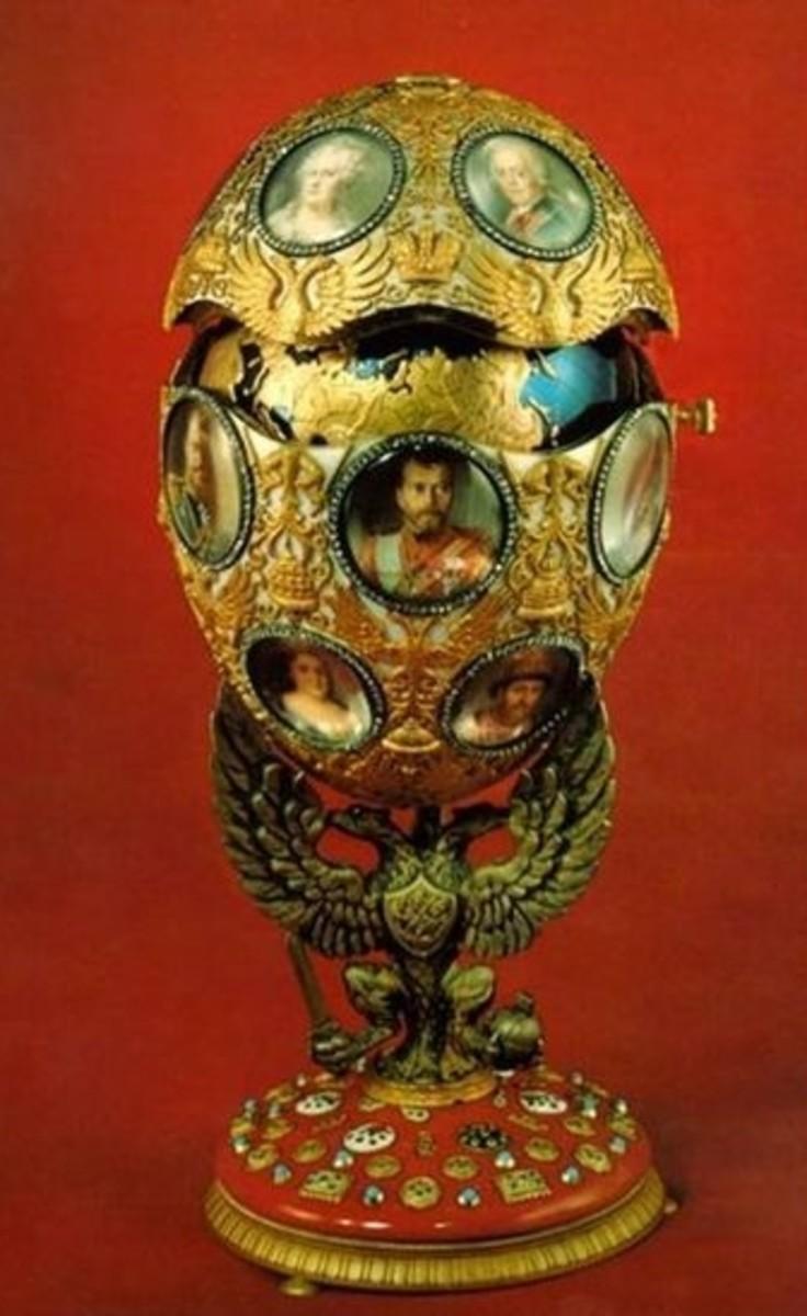 Romanov Tercentenary Egg (1913)