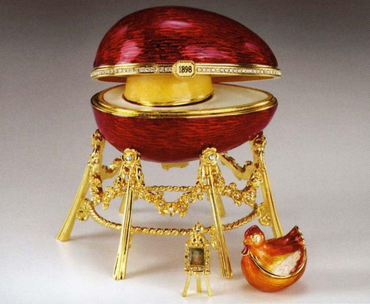 Kelch Hen Egg (1898)