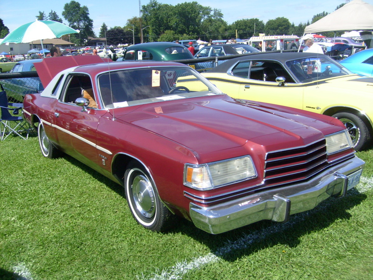 1978 Dodge Magnum (Not actual vehicle)